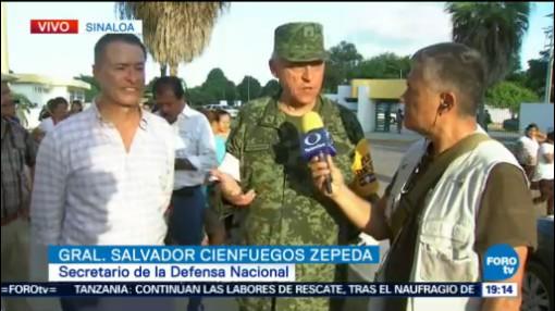 Sedena Reporta Cinco Muertos Inundaciones Sinaloa