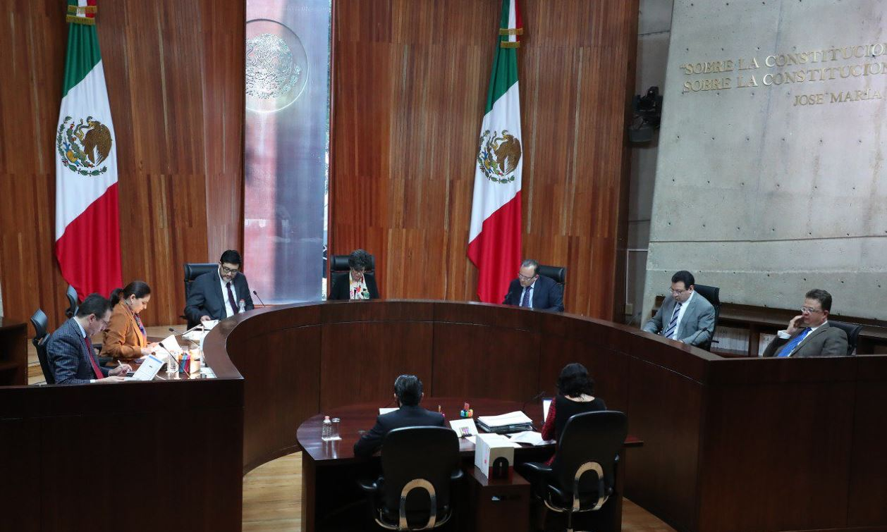 Recibe TEPJF documentación de recuento de Puebla