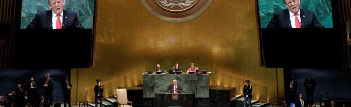 Trump pide en la ONUrestaurar la democracia en Venezuela