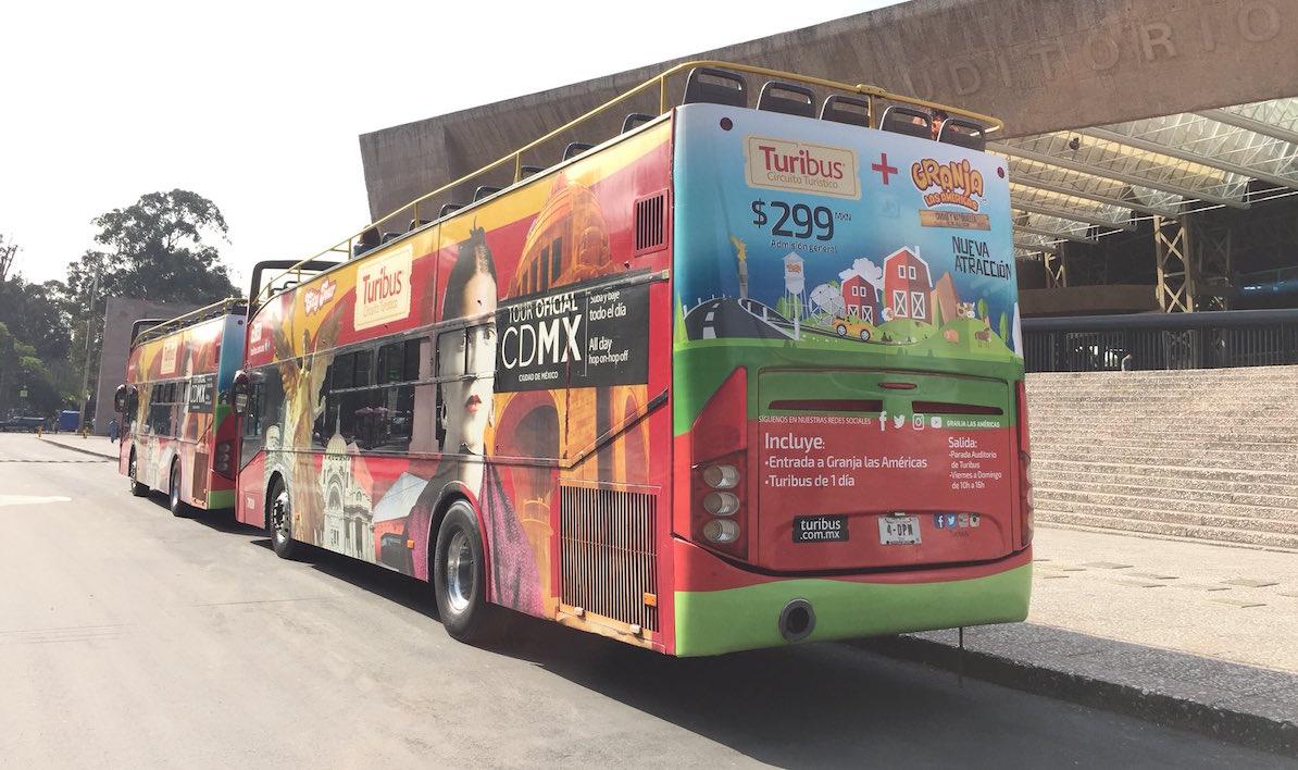 Turibús Gratis Condición Especial Ciudad México