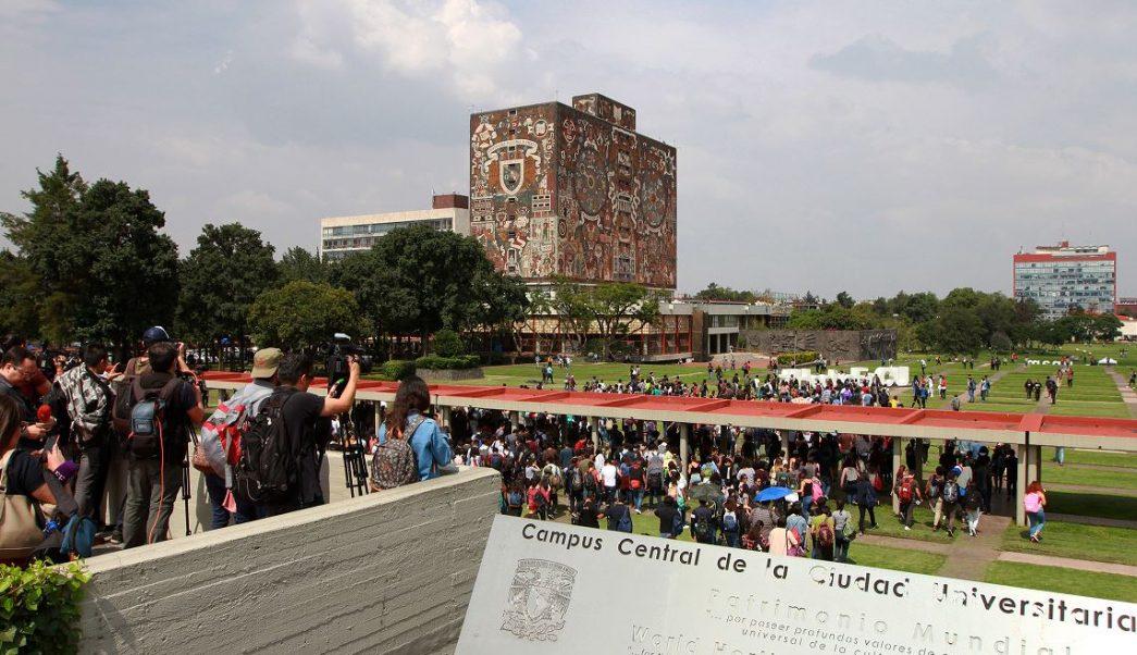 UNAM identifica grupos porriles y expulsa a 18 alumnos
