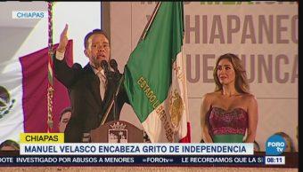 Ceremonias Grito Independencia Todo México Estados