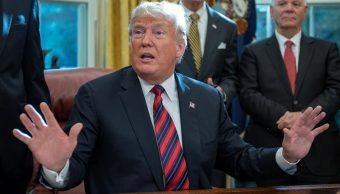 AI contradice declaraciones de Trump sobre caravana migrante