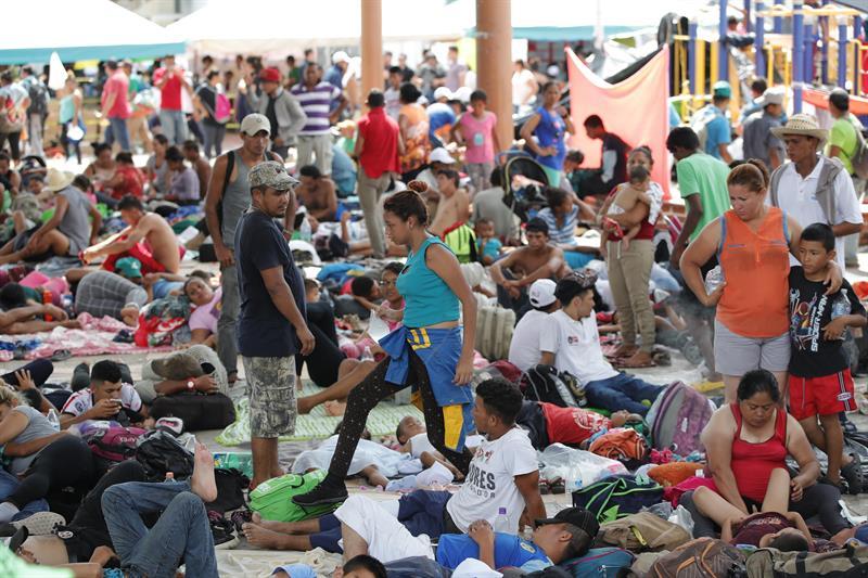 Estos son los centros de acopio en pro de la caravana migran