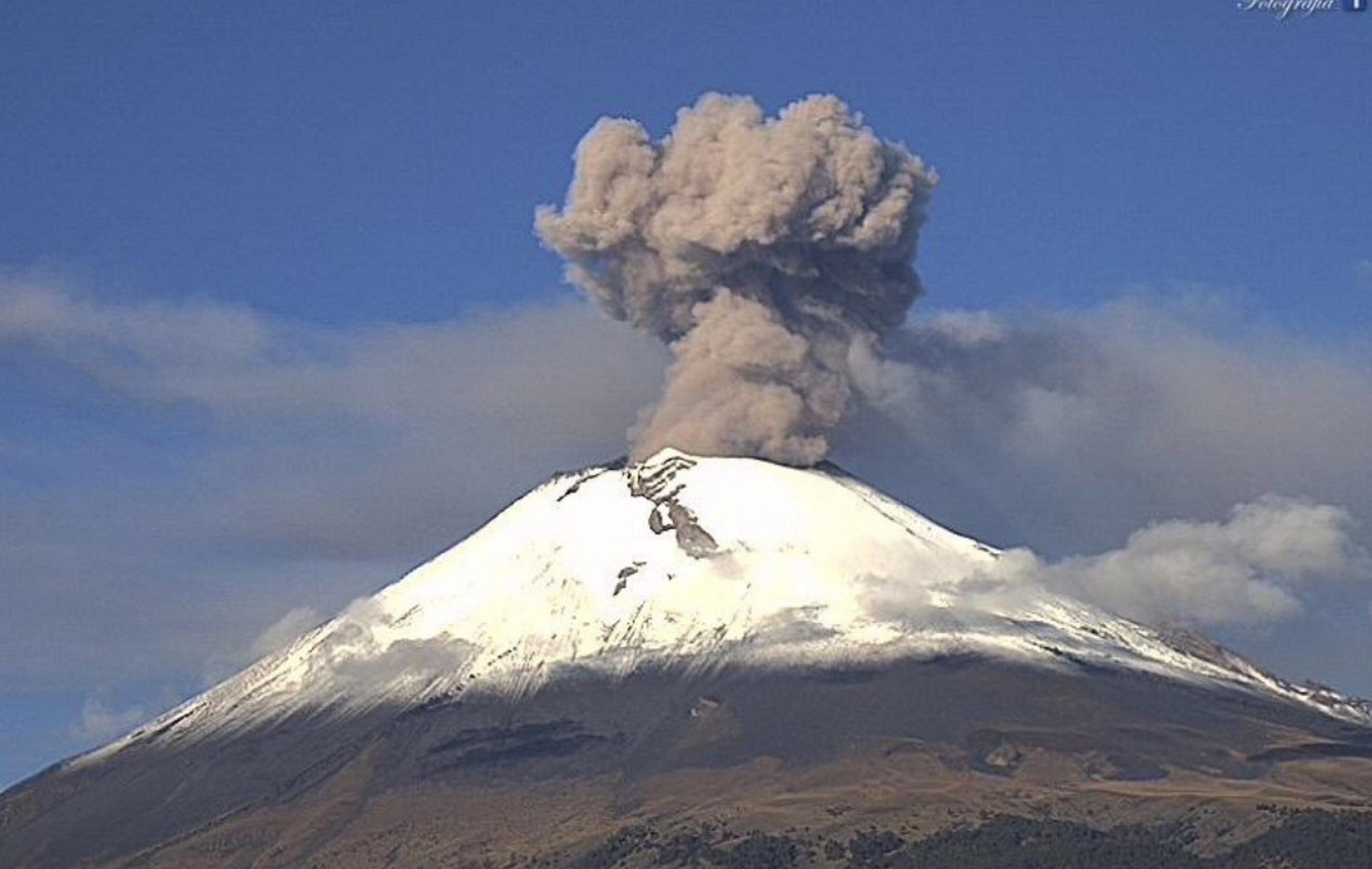 Ixtapaluca prepara albergue ante actividad del Popocatépetl