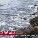 Alerta en Jalisco por huracán 'Willa'