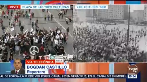 Alistan marcha de Tlatelolco al Zócalo de la CDMX