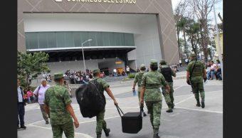 Desalojan Congreso de Morelos por falsa alarma de bomba