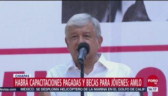 Amlo Se Reúne Gobernador De Chiapas El Presidente Electo, Andrés Manuel López Obrador Chiapas