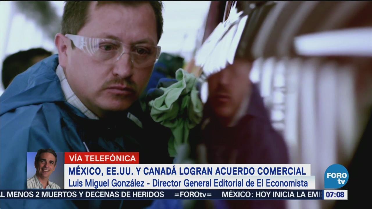 Analizan acuerdo Comercial entre Estados Unidos, México