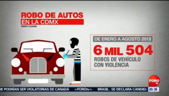Aumentan Asaltos Choferes Taxis CDMX Edomex