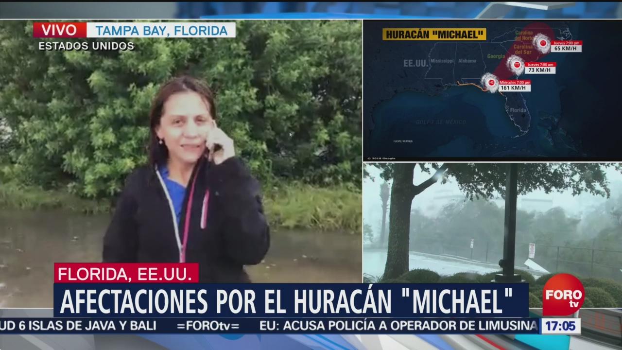 Autoridades empiezan rescate de personas varadas por Michael