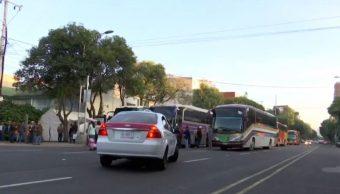 Manifestantes bloquean Municipio Libre y Cuauhtémoc