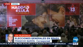 Bolsonaro Lidera Resultado Elecciones Brasil