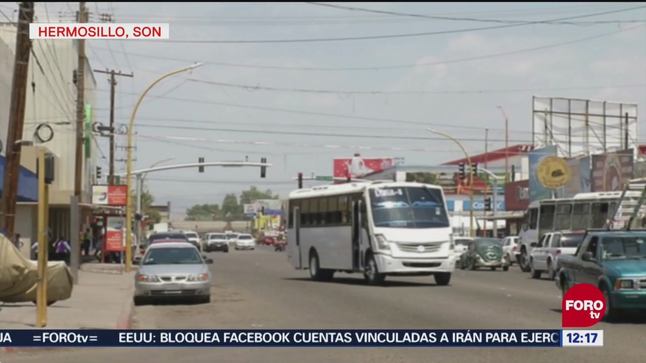 Camiones del transporte público operan en mal estado en Hermosillo, Sonora