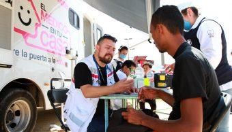 Caravana Migrante; gobierno de CDMX envía brigadas de salud