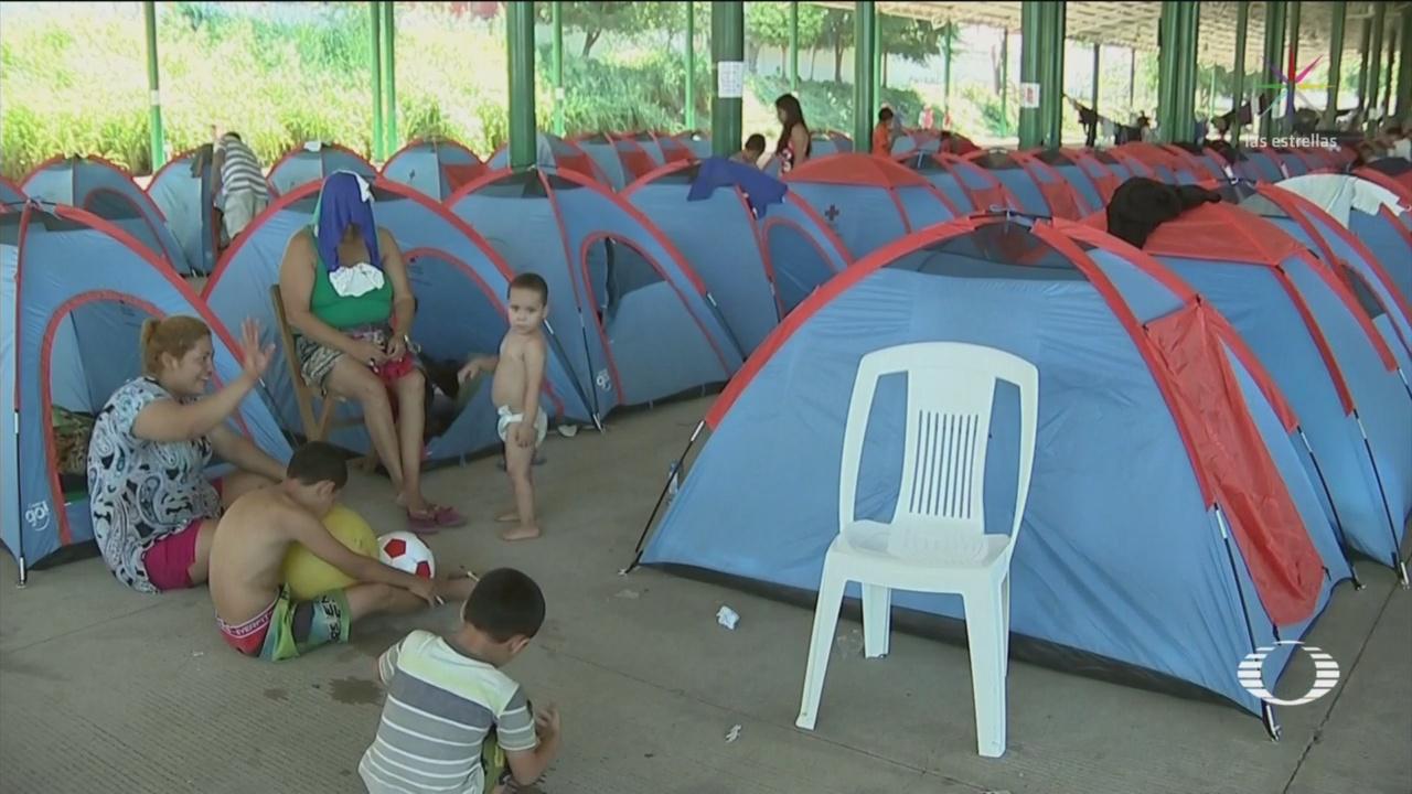 Centroamericanos Refugiados Permanecen Albergues INM