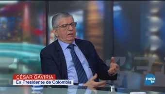 César Gaviria Expresidente Colombia Política Regulación Drogas