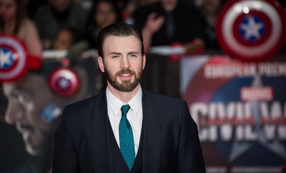 Chris Evans se quita el traje de 'Capitán América'