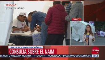 Cierran mesa de consulta en Texcoco