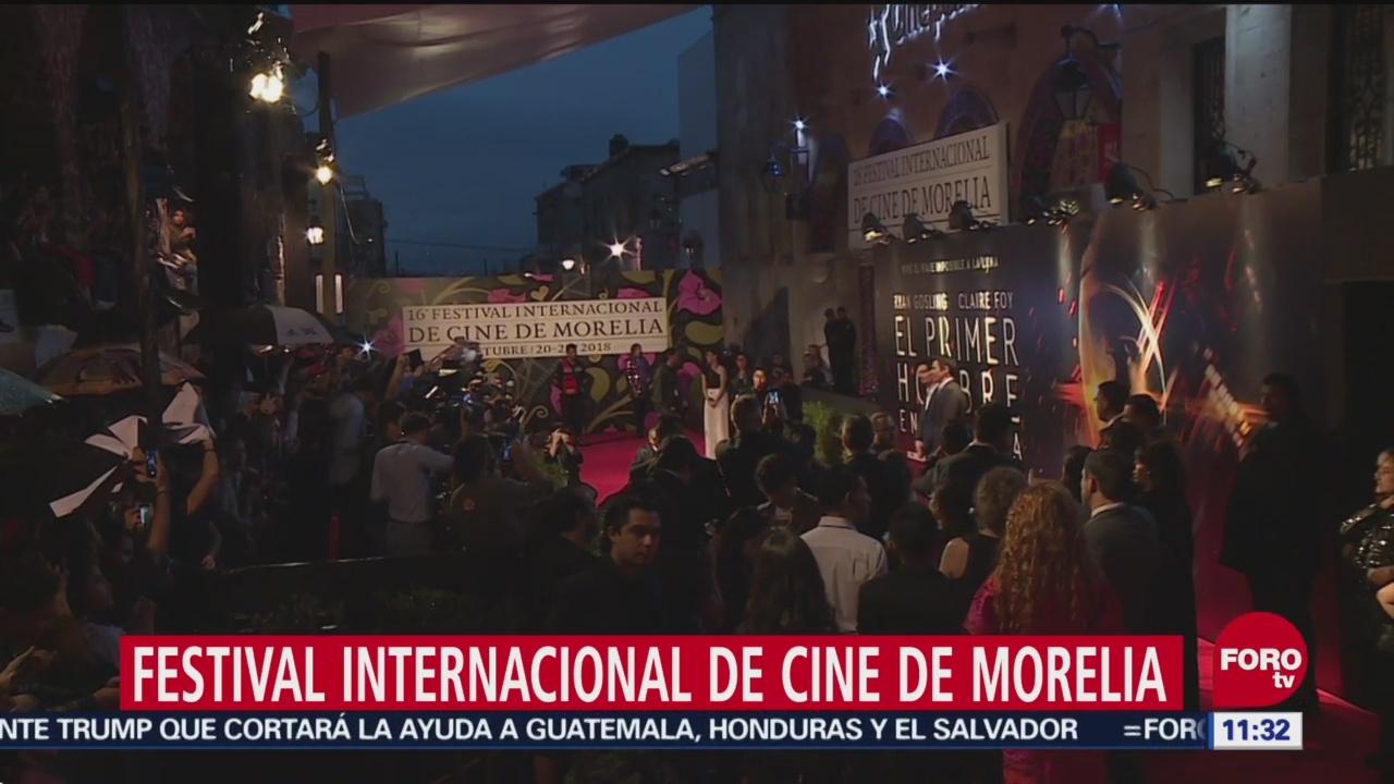 Comienza el Festival Internacional de Cine de Morelia