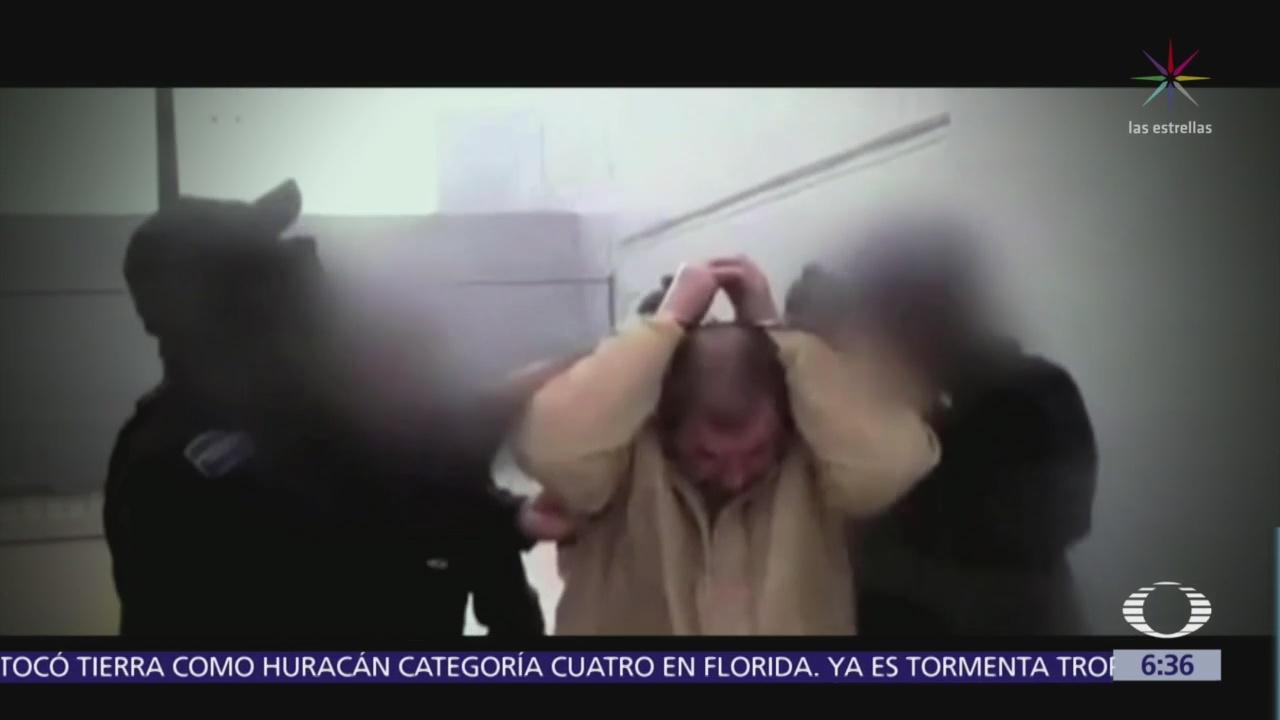 Comparecencia de Joaquín El Chapo Guzmán