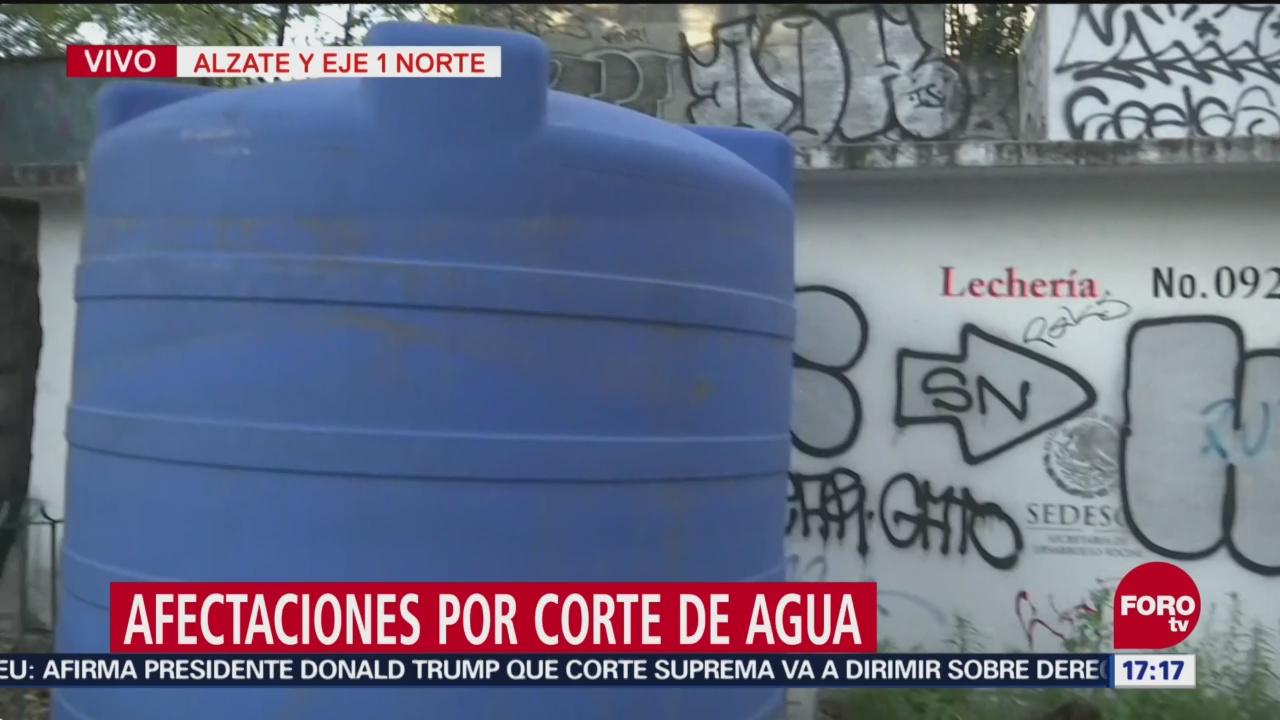 Corte de agua en la Ciudad de México