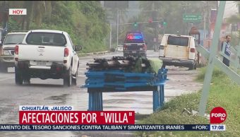 Costas de Jalisco y Colima, en alerta por lluvias
