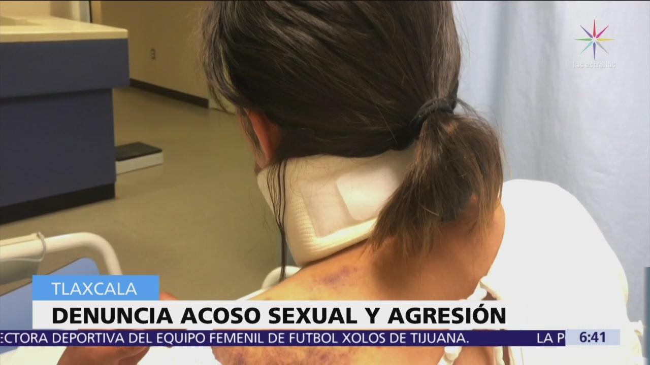 Denuncian a regidor de Educación de Españita, Tlaxcala, por acoso sexual