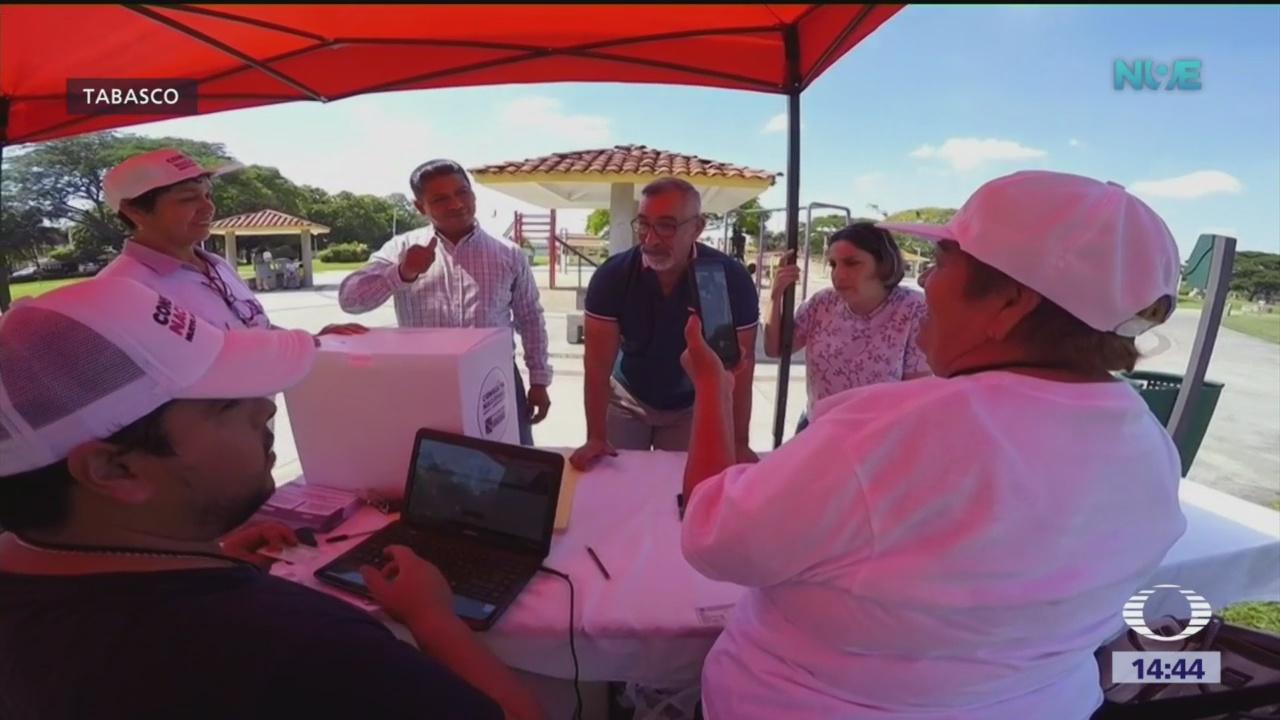 Descartan fraude en consulta sobre aeropuerto, en Tabasco