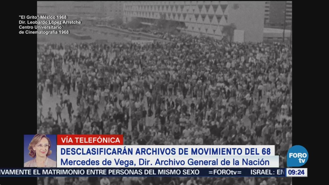 Desclasificarán Archivos Movimiento Del 68 Archivo General De La Nación Movimiento Estudiantil Mercedes De Vega