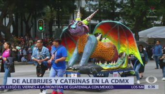 Desfile de alebrijes en CDMX, así fue el recorrido