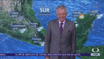 Despierta con Tiempo Lluvias fuertes en norte de México