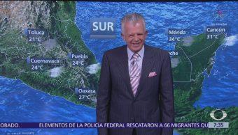 Lluvias intensas Península de Yucatán