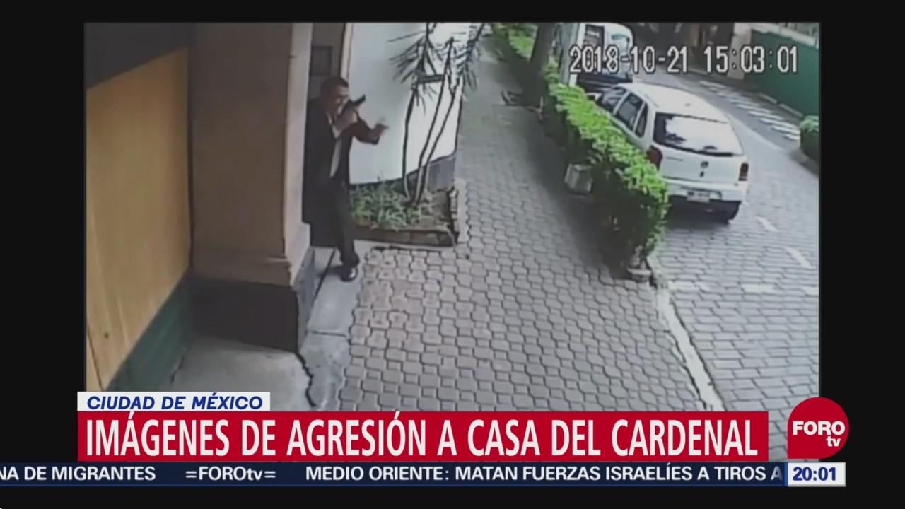 Difunden Video Ataque Casa Cardenal Norberto Rivera