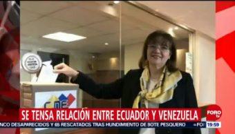 Ecuador Expulsa Embajadora Carol DElgado