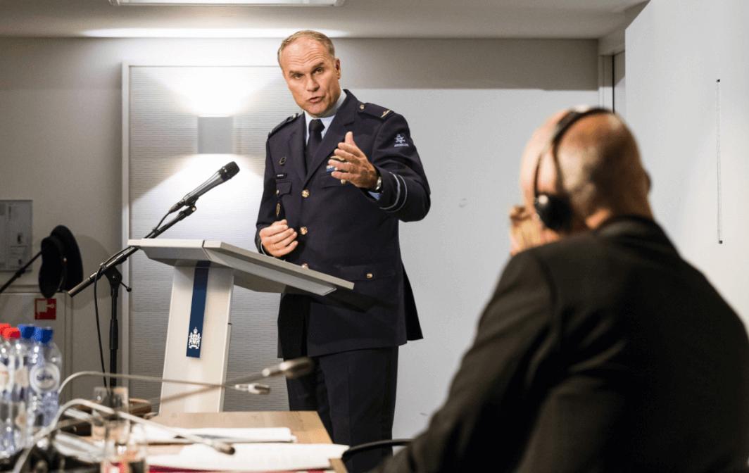El director del servicio holandés de inteligencia militar, Onno Eichelsheim. (EFE)