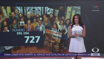 727 beneficiarios del Mecanismo de Protección de Personas