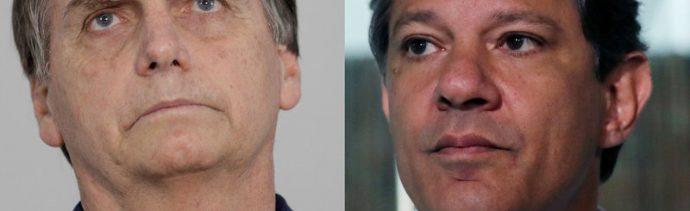 elecciones en brasil bolsonaro y haddad se enfrentan por presidencia