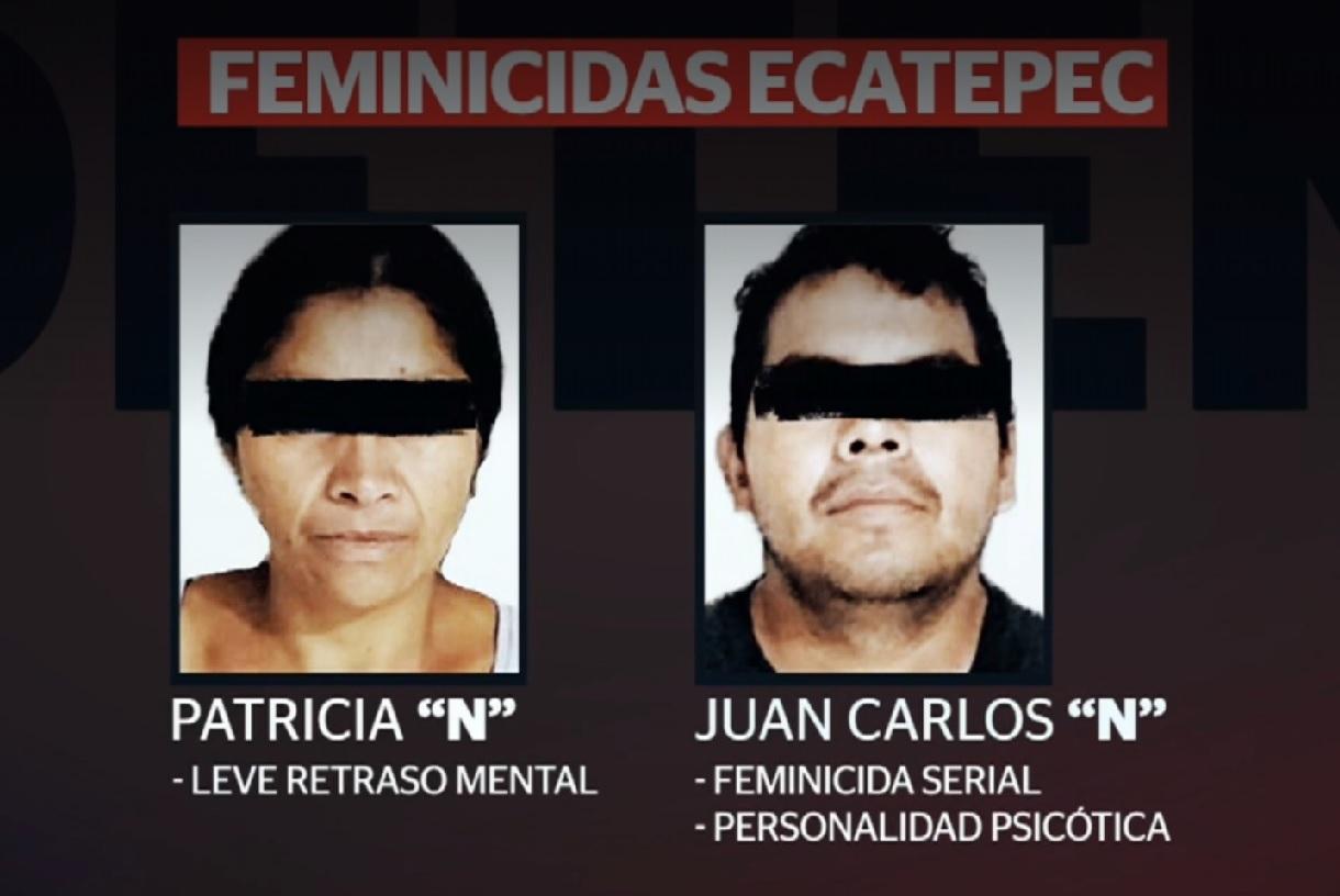 Feminicidas de Ecatepec, sin signos de arrepentimiento Fiscalía