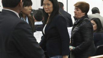 Ordenan 36 meses de prisión preventiva contra Keiko Fujimori