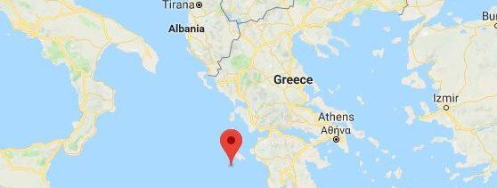 Terremoto en Grecia 25 de octubre 2018