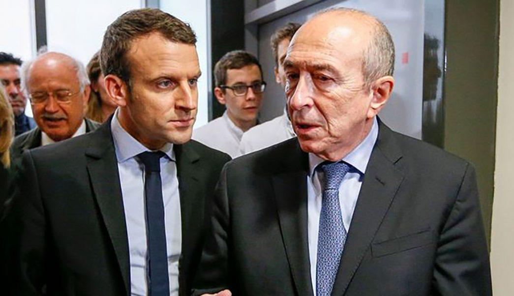 Macron rechaza renuncia de su primer ministro de Interior