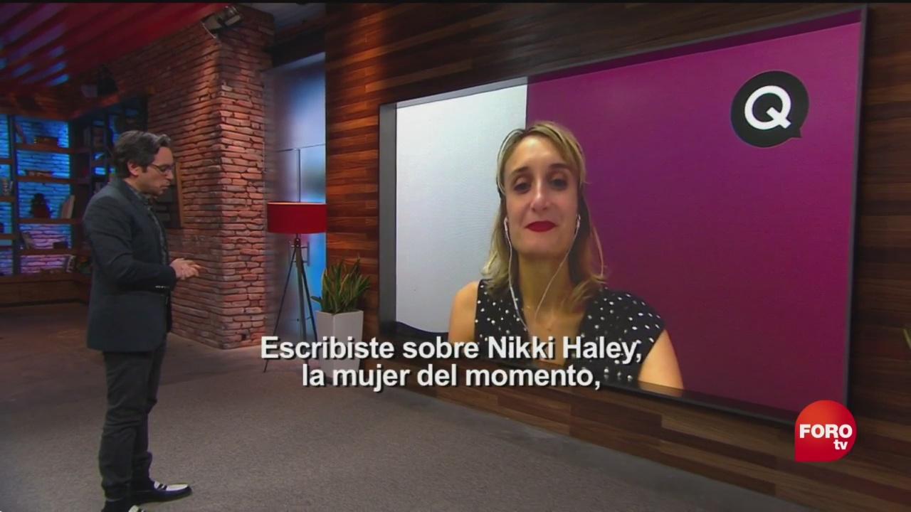 Genaro Lozano Entrevista Annalisa Merelli