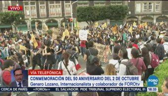Genaro Lozano habla del movimiento estudiantil de 1968