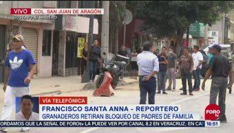 Granaderos golpean a vecina de la zona de Aragón