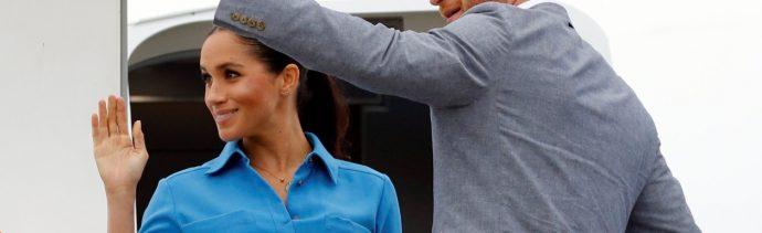 Avión real de los duques de Sussex aborta aterrizaje en Sydney