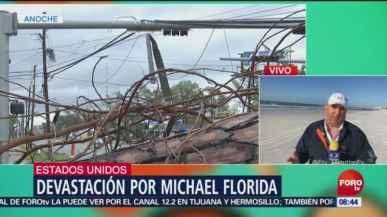 Huracán Michael genera devastación en Florida