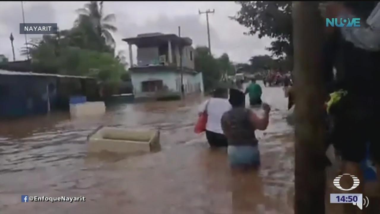 Huracán 'Willa' dejó cuatro muertos en Nayarit