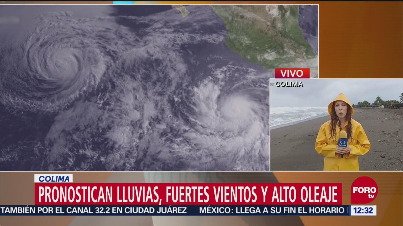Huracán Willa provoca lluvias, vientos y oleaje alto